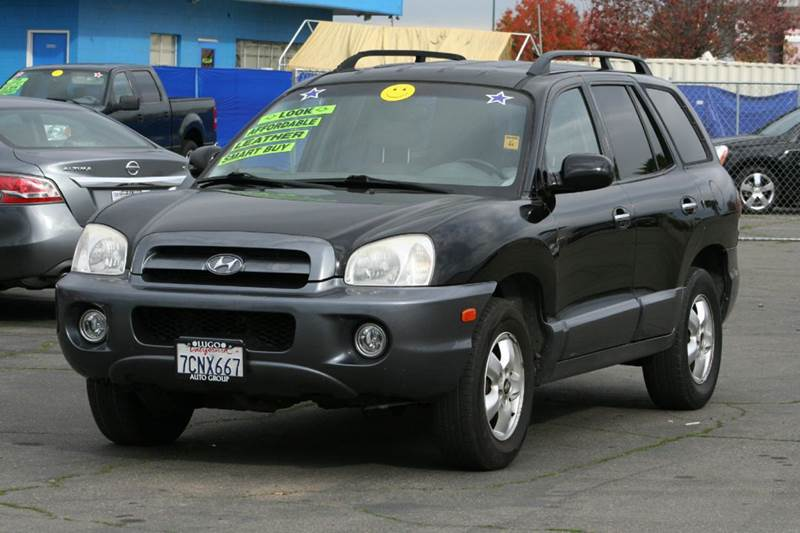 2006 hyundai santa fe awd limited 4dr suv in sacramento ca. Black Bedroom Furniture Sets. Home Design Ideas