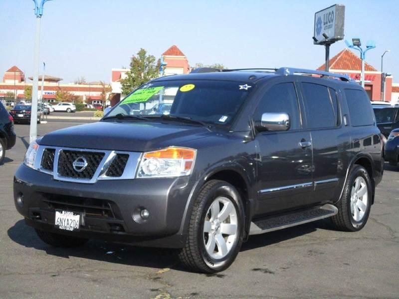 2010 Nissan Armada 4x2 Titanium 4dr SUV   Sacramento CA