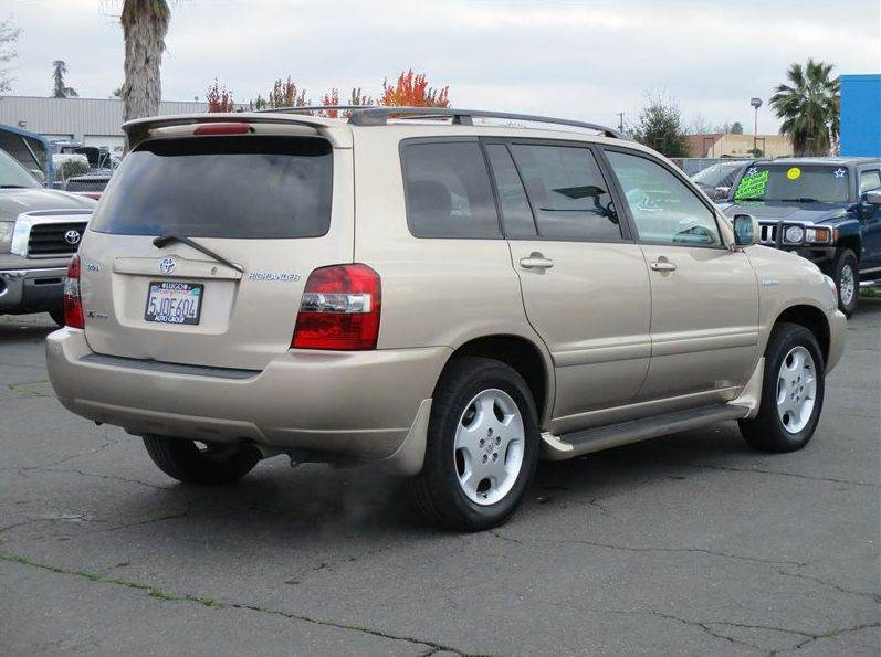 2004 toyota highlander awd limited 4dr suv w 3rd row in sacramento ca lugo auto group. Black Bedroom Furniture Sets. Home Design Ideas