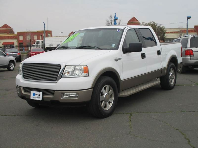 2005 ford f 150 4dr supercrew king ranch rwd styleside 5 5 ft sb in sacramento ca lugo auto group. Black Bedroom Furniture Sets. Home Design Ideas