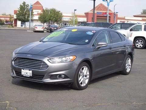 2013 Ford Fusion & Ford Used Cars financing For Sale Sacramento Lugo Auto Group markmcfarlin.com