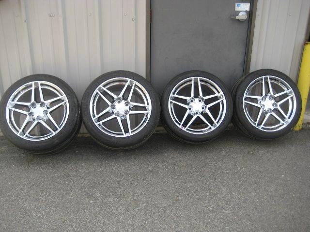 2014 4 corvette chrome wheels and tires new zo6 4 corvette chrome wheels and in hampstead. Black Bedroom Furniture Sets. Home Design Ideas