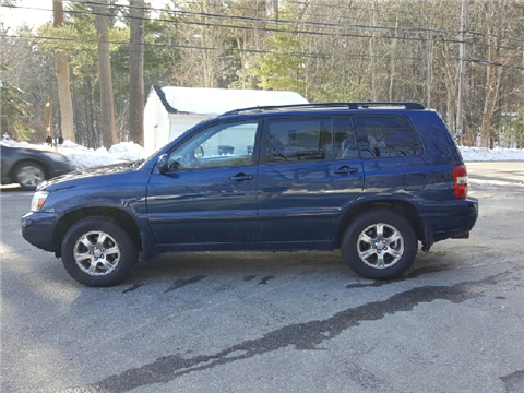 2004 Toyota Highlander for sale in Hampstead, NH