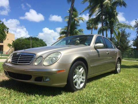 2004 Mercedes-Benz E-Class for sale in Pompano Beach, FL