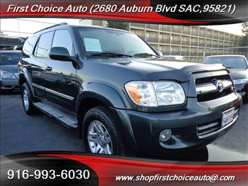 2006 Toyota Sequoia for sale in Sacramento, CA