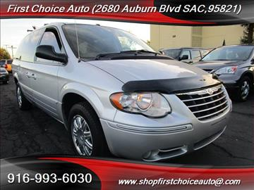 2007 Chrysler Town and Country for sale in Sacramento, CA