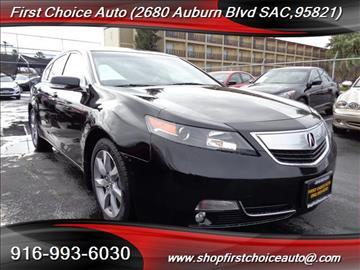 2013 Acura TL for sale in Sacramento, CA