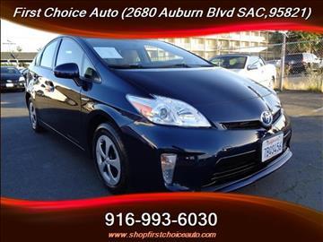2013 Toyota Prius for sale in Sacramento, CA