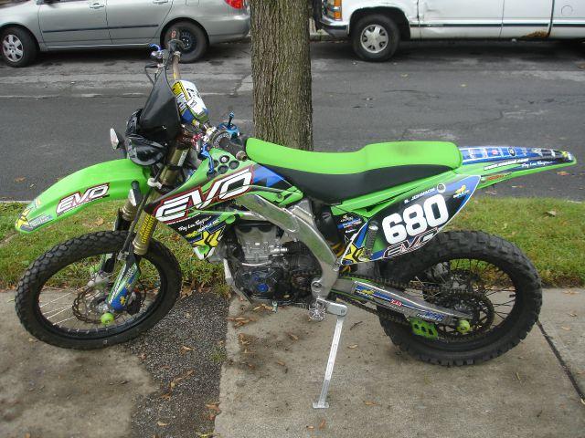 2009 Kawasaki KX460