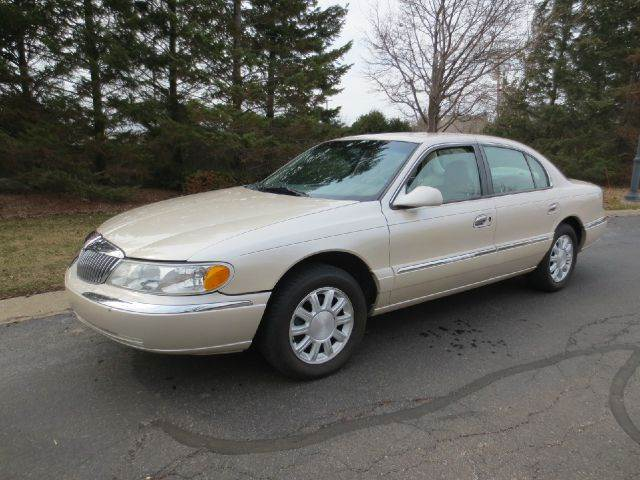 Used Cars Shawnee Ks 2002 Lincoln Continental Luxury Appearance