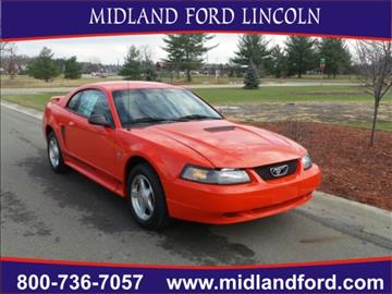2001 Ford Mustang for sale in Midland, MI