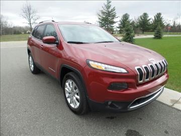 2017 Jeep Cherokee for sale in Midland, MI