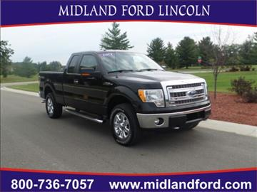 2013 Ford F-150 for sale in Midland, MI