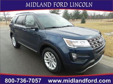 2016 Ford Explorer for sale in Midland, MI