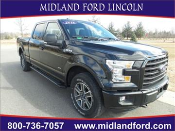 2015 Ford F-150 for sale in Midland, MI