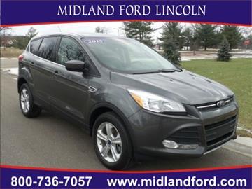 2015 Ford Escape for sale in Midland, MI