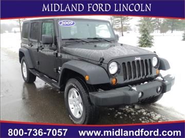 2009 Jeep Wrangler Unlimited for sale in Midland, MI