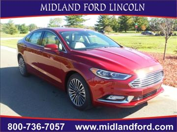 2017 Ford Fusion for sale in Midland, MI