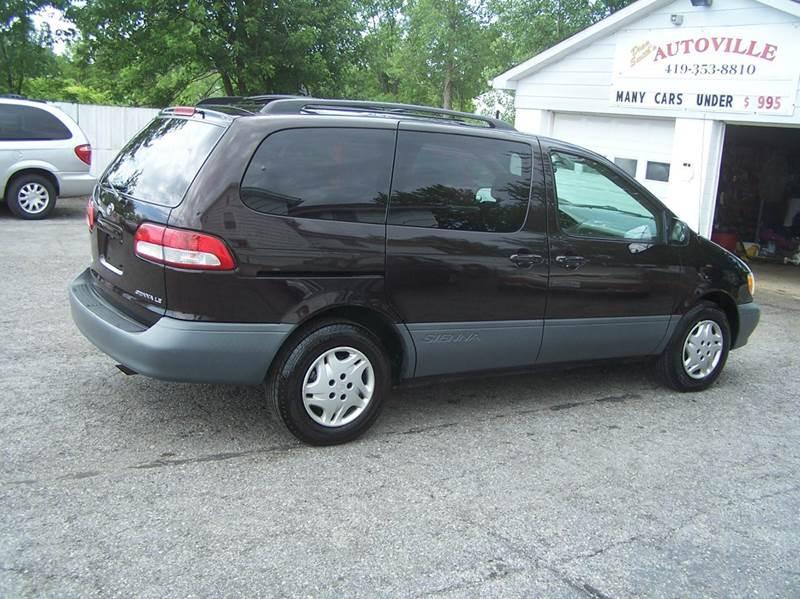2001 Toyota Sienna 4dr LE Mini-Van - Bowling Green OH