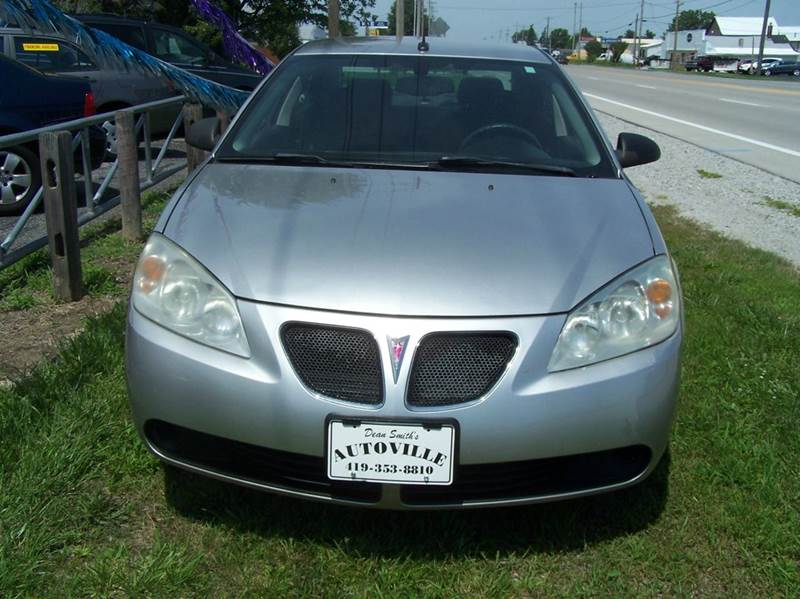 2008 Pontiac G6 Value Leader 4dr Sedan - Bowling Green OH