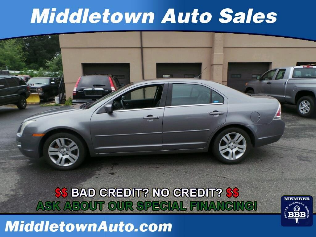 2007 ford fusion v6 sel 4dr sedan in middletown ct middletown auto sales. Black Bedroom Furniture Sets. Home Design Ideas