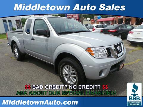 2016 Nissan Frontier for sale in Middletown CT