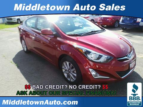 2015 Hyundai Elantra for sale in Middletown CT