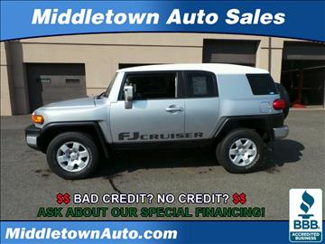 2007 Toyota FJ Cruiser for sale in Middletown, CT