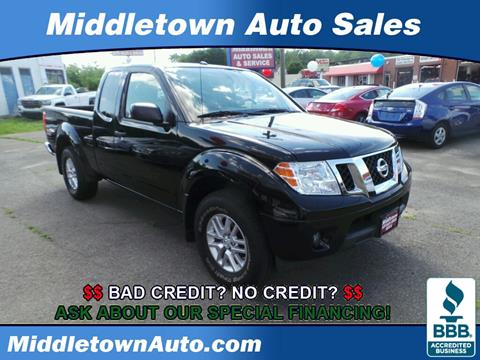 2014 Nissan Frontier for sale in Middletown CT