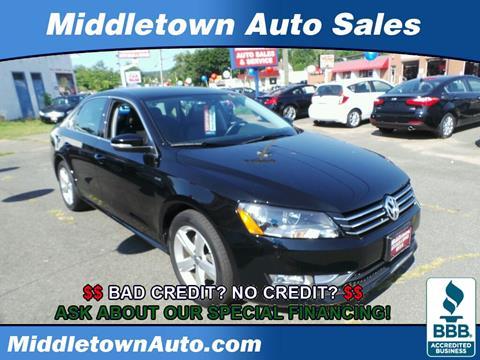 2015 Volkswagen Passat for sale in Middletown CT