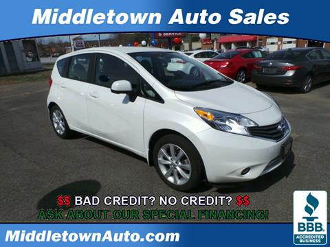 2014 Nissan Versa Note for sale in Middletown CT