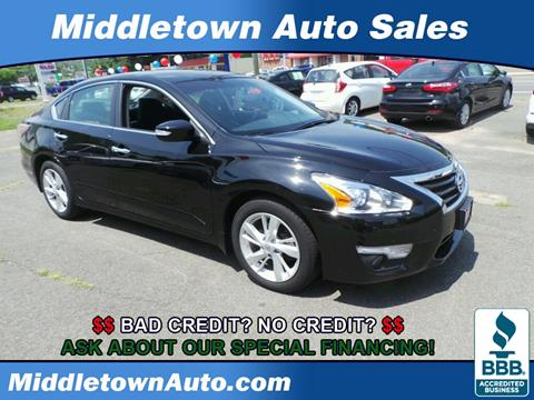 2015 Nissan Altima for sale in Middletown, CT