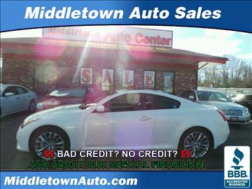 2014 Infiniti Q60 Coupe for sale in Middletown, CT
