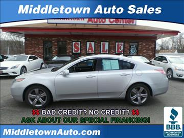 2013 Acura TL for sale in Middletown, CT