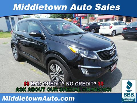 2016 Kia Sportage for sale in Middletown CT