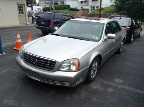 2004 Cadillac DeVille for sale in Old Forge, PA