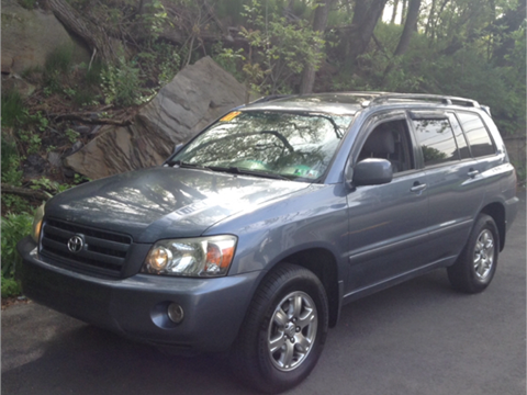 2007 Toyota Highlander for sale in Old Forge, PA