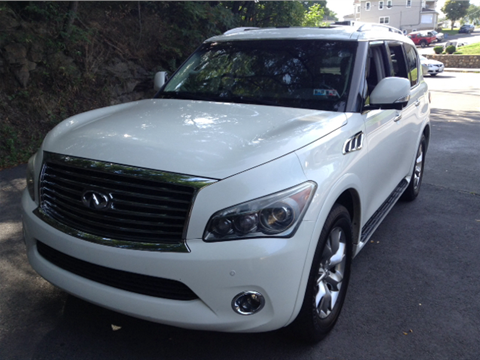 2011 Infiniti QX56 for sale in Old Forge, PA
