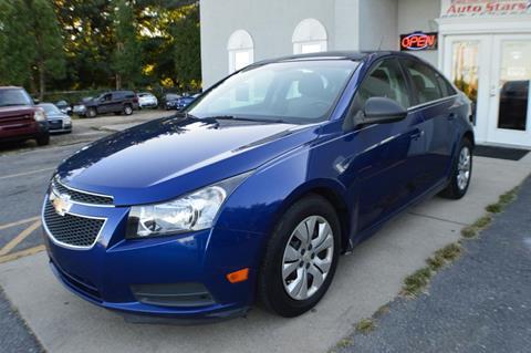 2012 Chevrolet Cruze for sale in Smyrna, DE
