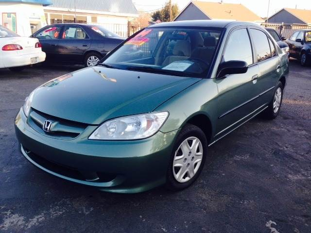 2004 Honda Civic DX Sedan   Manteca CA