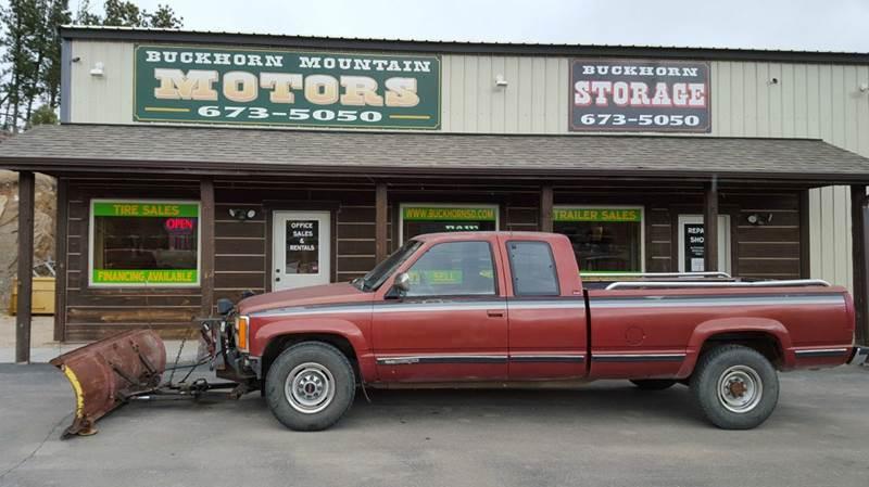 1991 GMC Sierra 2500 2dr K2500 SLE 4WD Extended Cab LB - Custer SD