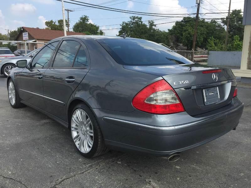2007 Mercedes-Benz E-Class E 350 4dr Sedan - Arlington TX