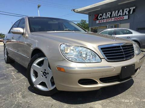 2003 Mercedes-Benz S-Class for sale in Arlington, TX