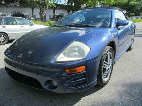 2003 Mitsubishi Eclipse Spyder for sale in Lauderdale Lakes, FL