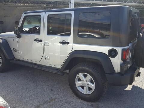 2007 Jeep Wrangler Unlimited for sale in Elizabethton, TN