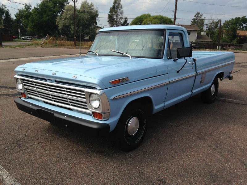 1969 Ford F-100 ...1969 Ford F100 360 Specs