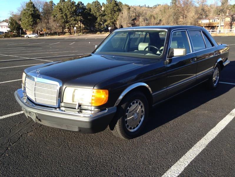 1989 Mercedes Benz 420 Class 420 SEL 4dr Sedan   Colorado Springs CO