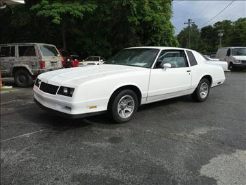 1983 Chevrolet Monte Carlo For Sale Carsforsale