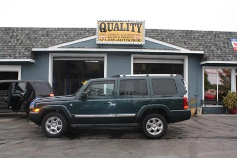 2006 Jeep Commander for sale in Cuba, MO