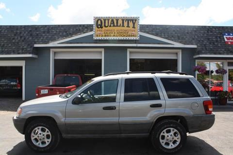 2000 Jeep Grand Cherokee for sale in Cuba, MO